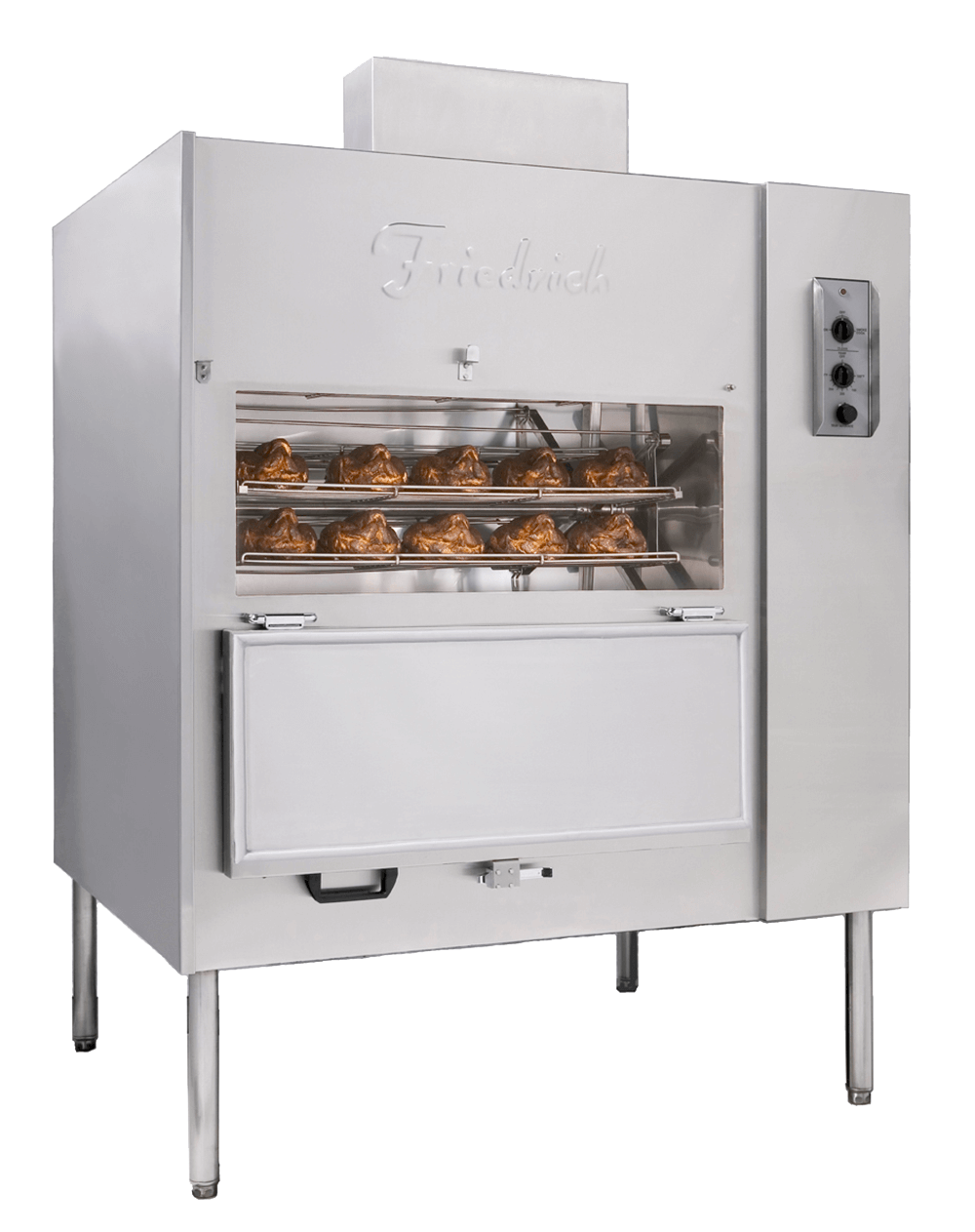 Friedrich Roasters Smokers Fmp 400 Freestandingunit Open